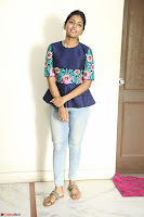 Eesha Looks super cute stunning in Denim Jeans and Top at Darsakudu movie Inerview ~  Exclusive 006.JPG