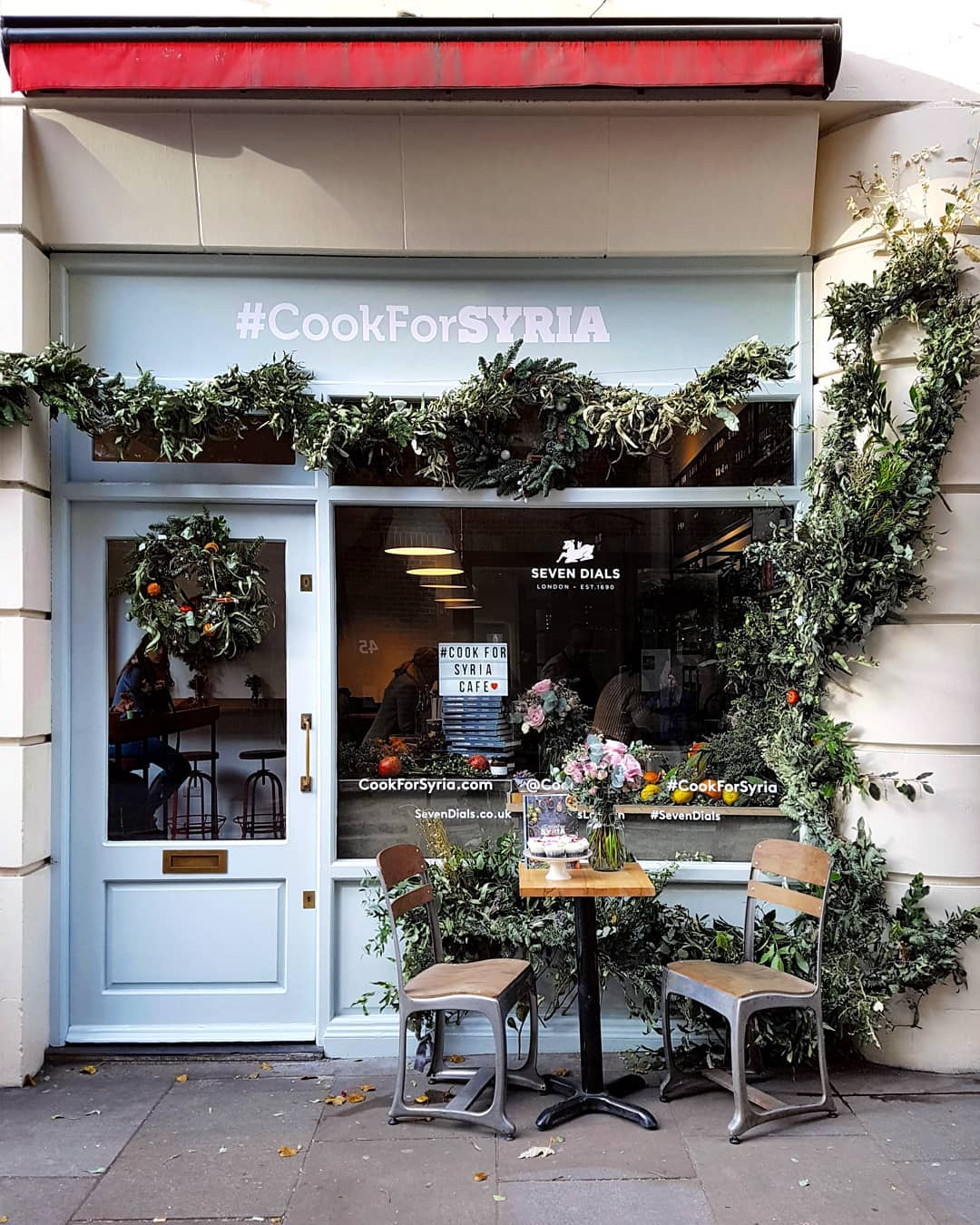 Kitchen Garden London: London Pop-ups: The #CookForSyria Pop-up Cafe In Monmouth