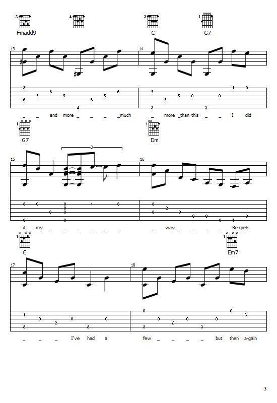 My Way Tabs Frank Sinatra. My Way On Guitar, Frank Sinatra Free Tabs/ Sheet Music. Frank Sinatra - My Way (Comme D' Habitude) Free Tabs / Chords