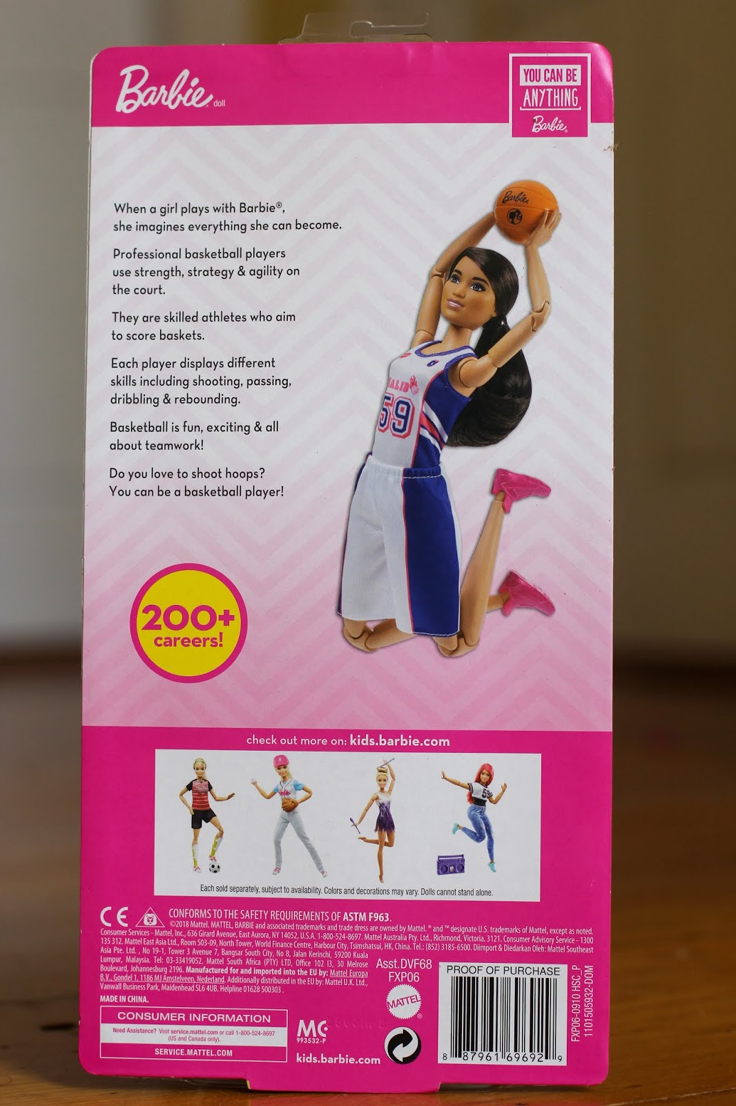 Barbie And 2018 Made Move Cozy Player To Basketball Comforts DollsTall iuPXZOk
