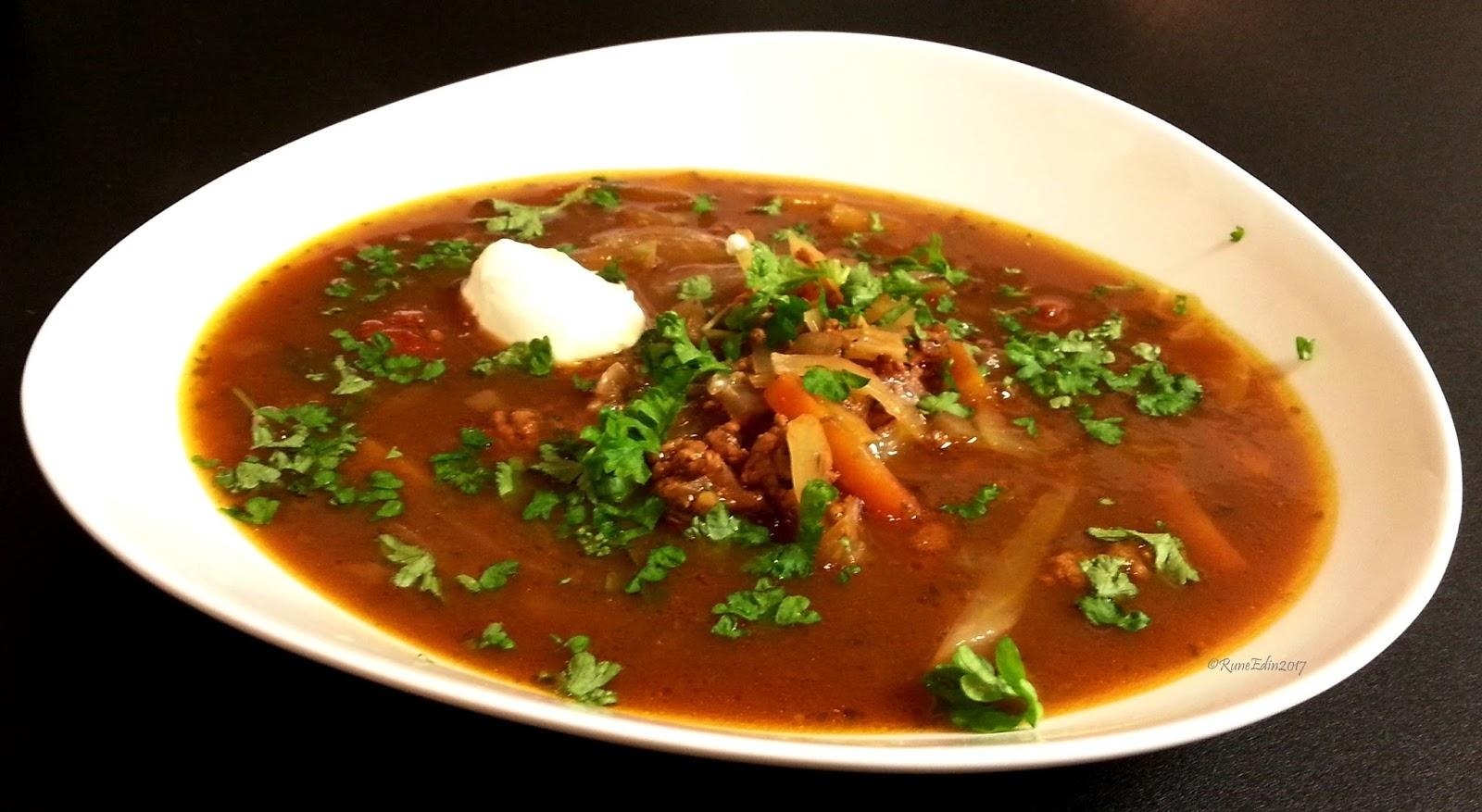 recept soppa köttfärs