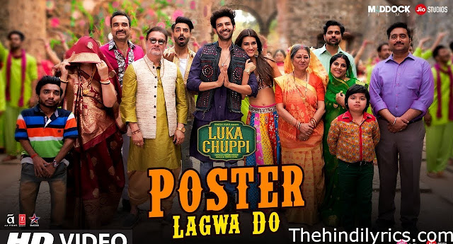 Poster Lagwa Do Lyrics – Luka Chuppi (2019)