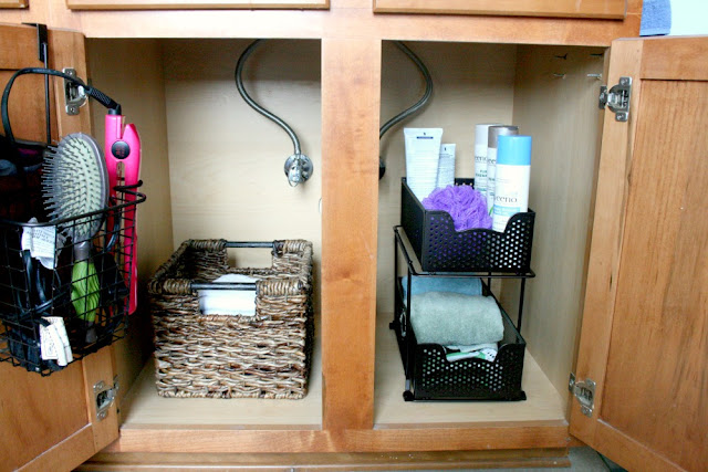 My Life Homemade Simple Bathroom Organization Storage Ideas