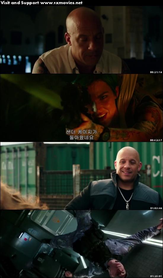 xXx Return Of Xander Cage 2017 English 720p HDRip