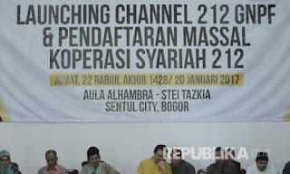 GNPF MUI Luncurkan Channel 212 untuk Lindungi Umat Islam dari Informasi Keliru