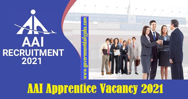 AAI Apprentice Jobs 2021