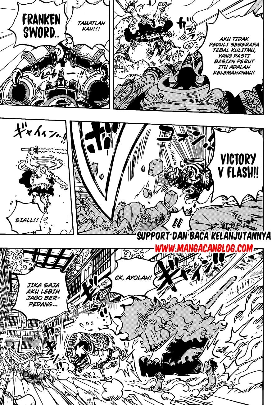 Manga One Piece Chapter 1019 Bahasa Indonesia
