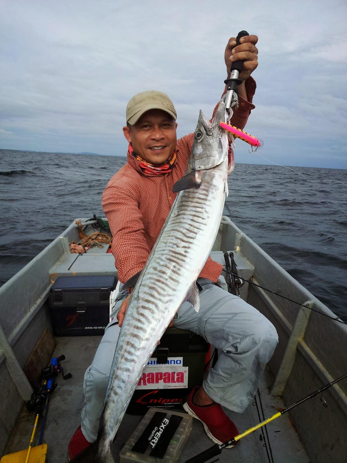 DK's Diary: Cara Memancing Ikan Tenggiri