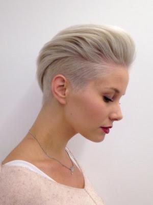 corte cabello corto elegante