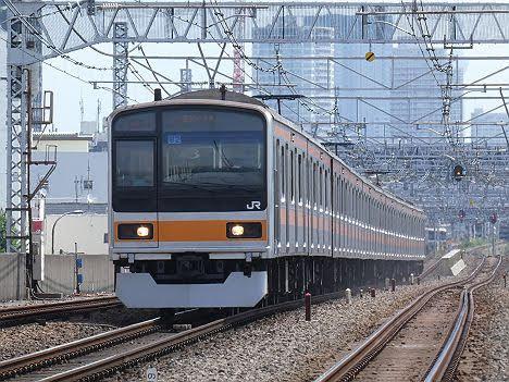 【ダイヤ改正で新登場!】209系1000番台の快速 武蔵小金井行き