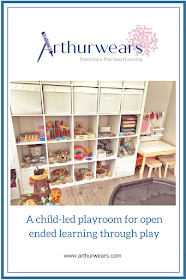 child led playroom for open ended learning through play