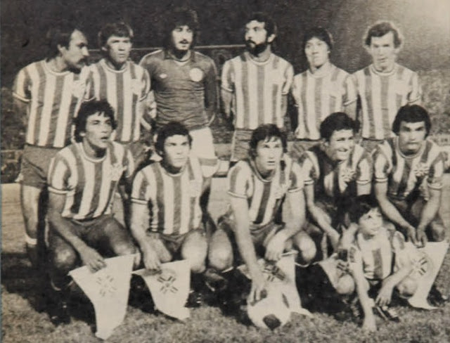 Formación de Paraguay ante Chile, Copa América 1979, 28 de noviembre