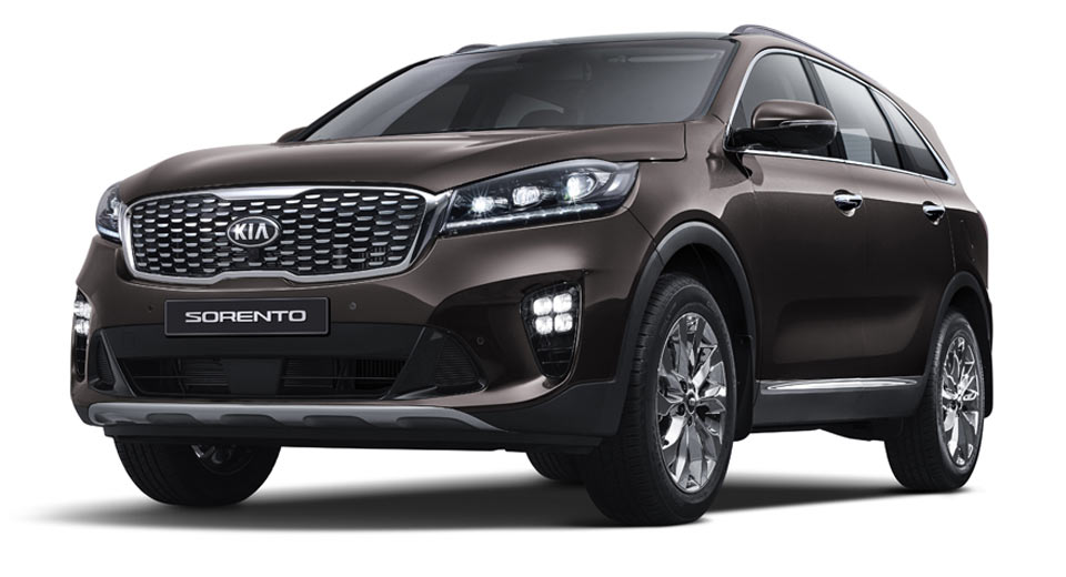 2018 kia sorento gets a classy facelift in korea. Black Bedroom Furniture Sets. Home Design Ideas
