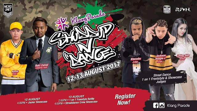 Shuddup N' Dance and Fight It Out for The Battle of the Year In Klang Parade