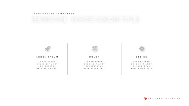 of Premium PowerPoint Template with Whit Title