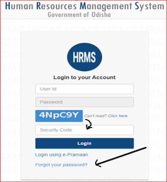 how-to-get-hrms-id-and-password