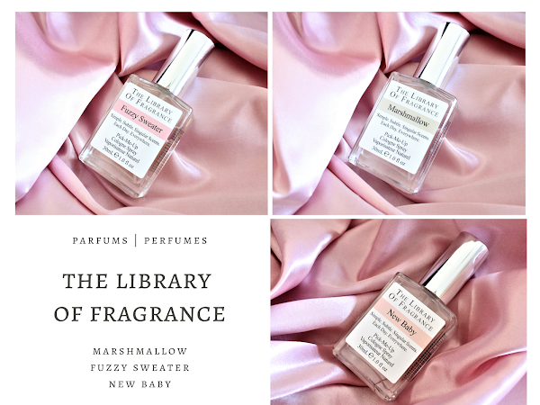THE LIBRARY OF FRAGRANCE | MA SELECTION DE PARFUMS COCOONING