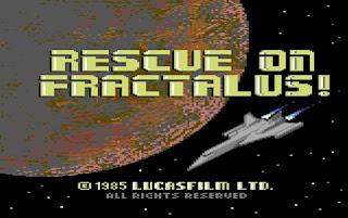 Videojuego Rescue on Fractalus