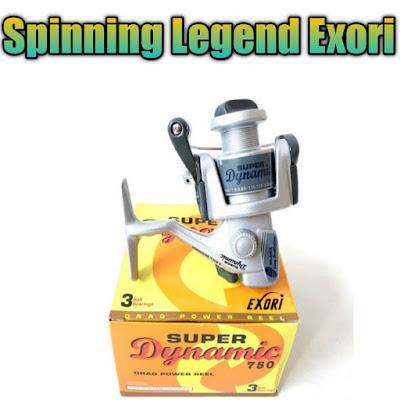 reel exori legendaris dengan harga yang murah dan terjangkau di semua pemancing