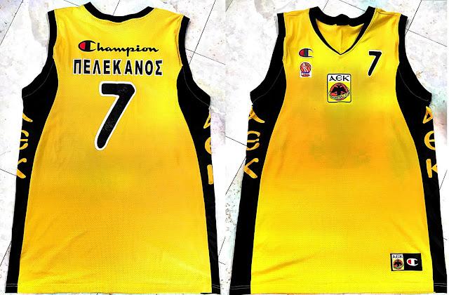 Συλλεκτική φανέλα του Μιχάλη Πελεκάνου από την ΑΕΚ σε κλήρωση για τον μικρό Παναγιώτη