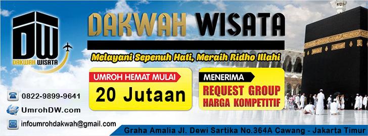 Header Dakwah Wisata Travel Umroh