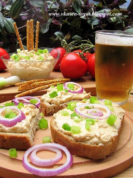 Обацда традиционният дип за бира на Октоберфест / Obazda Traditional Oktoberfest Dip