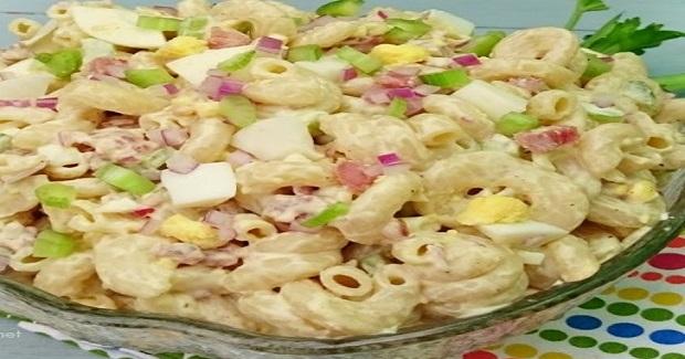 Bacon And Egg Pasta Salad Recipe