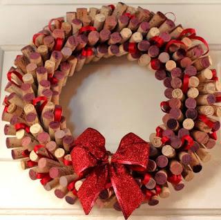 Recicla, Coronas de Navidad