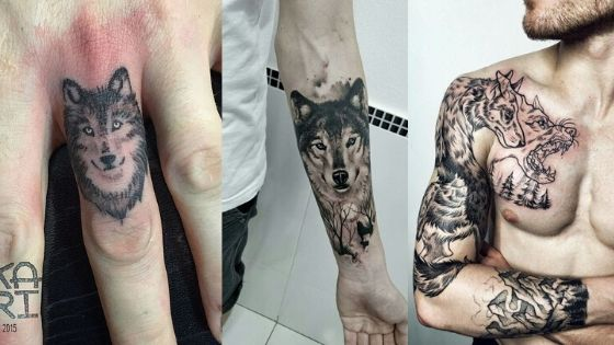 20 Incredible Best Wolf Tattoos for Men 2020 - TatoosDesign.com