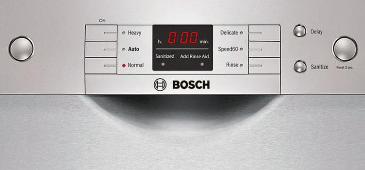 Bosch Washmaschine Fehlercode E13