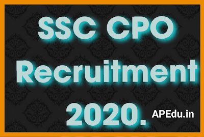 Jobs in Central Police Organisation (CPO) through SSC