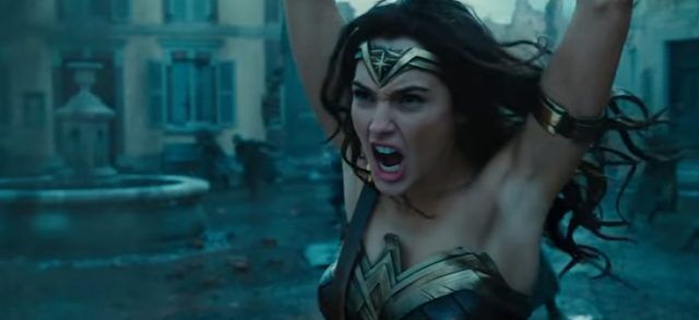 The Wonder Woman trailer was released