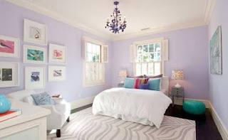 Rekomendasi warna ungu muda
