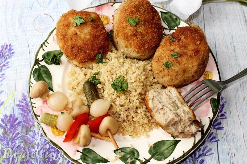 Kotlety mielone z quinoą/komosą ryżową