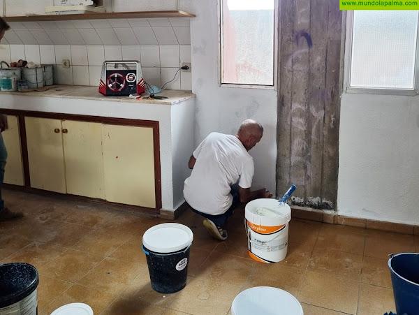 Fuencaliente realiza trabajos de mejora en las infraestructuras de los centros educativos del municipio