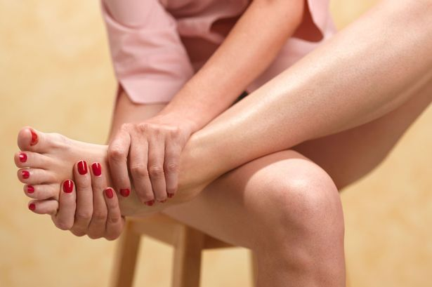 Painful: More and more young people are coming down with gout