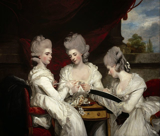 The Ladies Waldegrave by Sir Joshua Reynolds, 1780