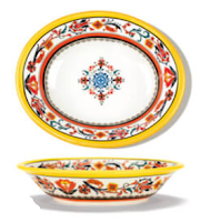 Italian Inspired Serving Bowl