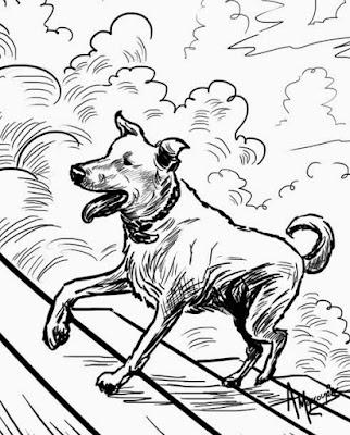 Ο Δρόμος... ένα κόμικ για τον Λουκάνικο, από το φονικό κουνέλι