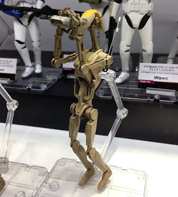 S.H.Figuarts Star Wars Ep.II Security Droid