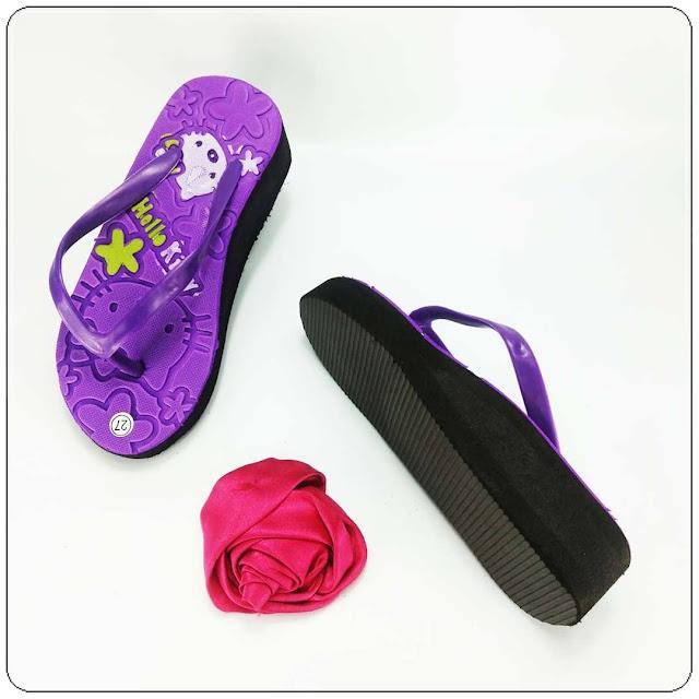 grosirsandalmurah.org - Wedges Anak - Sandal HK Tebal Anak
