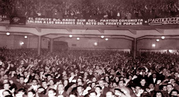 Madrid será la tumba del fascismo (Mitin comunista 27/09/1936)