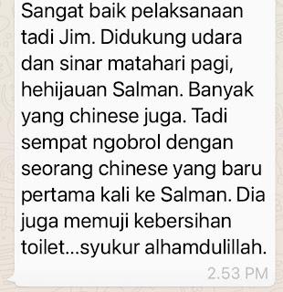 Testimoni Vaksinasi di Masjid Salman ITB
