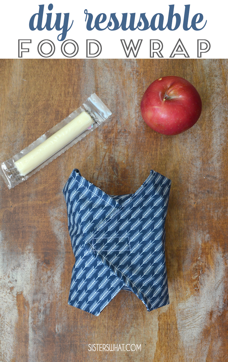 diy lunch wraps sewing tutorial