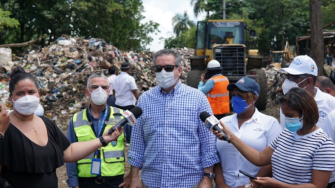 """Neney afirma el Gobierno y alcaldía declaran """"guerra sin cuartel a la basura"""" en SDE"""