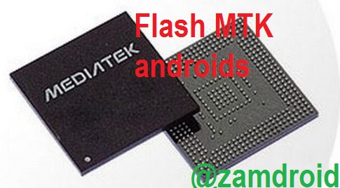 How to flash MTK android phone with tools