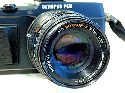 Olympus Pen E-P5, Minolta MD Rokkor-X 50mm F1.7