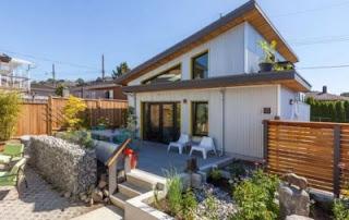 photo rumah kayu minimalis modern