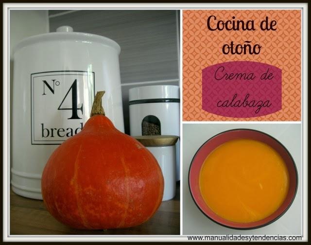 Cocina de otoño: crema de calabaza / Fall cuisine: pumkin cream / Cuisine d'automne: velouté de potiron