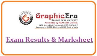GEU Dehradun Results 2021